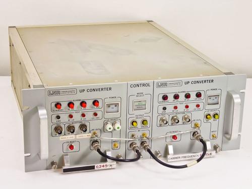 LNR UC6-D1 Dual C-Band Redundant Satcom Upconverters 120V w/004003-1 004003-2