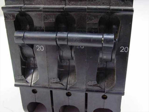 Heinemann Circuit Breaker 20Amp 3 Pole 240 VAC (CF3-G3-U)