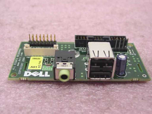 Dell 0M686 I/O Front Panel Board compatible w/Optiplex GX270