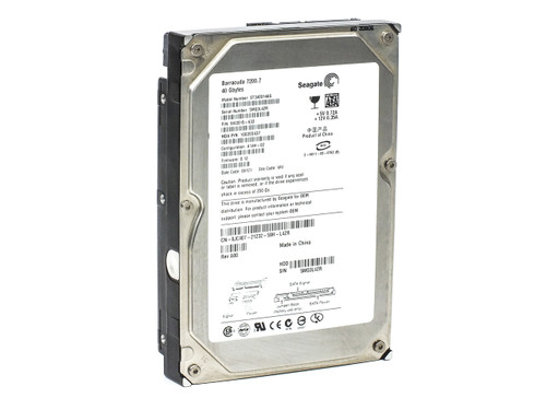 "Seagate 40GB 3.5"" SATA Hard Drive Barracuda 7200.7 9W2015-633 JC407 (ST340014AS)"