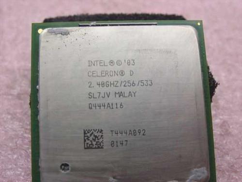 Intel SL7JV 2.40GHz Celeron D CPU Processor Socket 478 mPGA478B