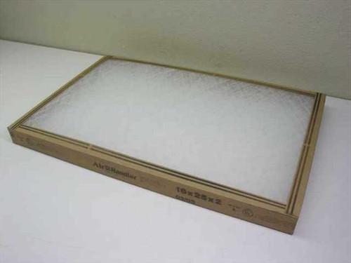 Air Handler 1W102 Disposable Air Filter 16x25x2