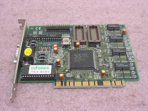 Cardex PCI Video Card S3 Trio64 M0K2AA 9407-11