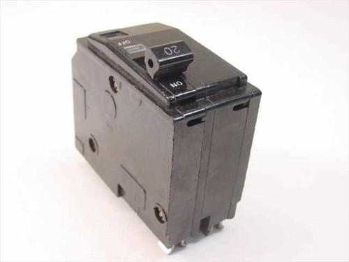 Generic 20 Amp Circuit Breaker (2 pole)