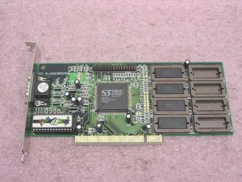 S3 PCI Video Card Virge H1E3DD