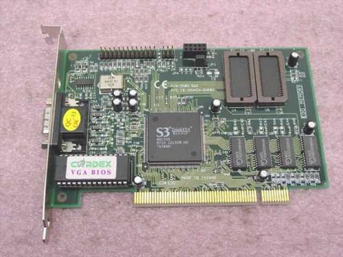 Cardex 9503-56A PCI VGA Video Card Trio64V& N1C3CF