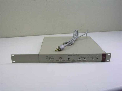 """Video accessory Corp. 013886 Video Squelch Unit with BNC Ports in 19"""" 1U Rack"""