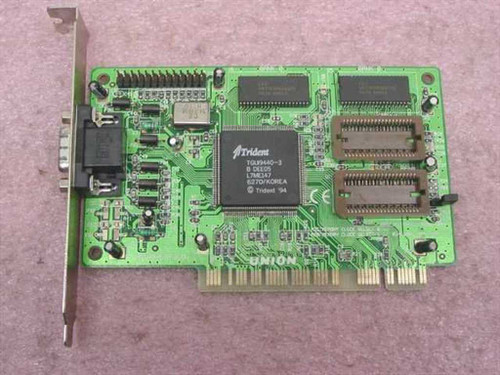 Union Trident PCI Video Card TGUI9400-3 TWN7389