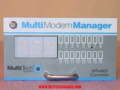 MultiTech System MultiModem MGR-extra controller MR4800MR