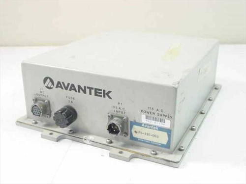 Avantek PS-110-002 120 VAC In DC Out - Power Supply in Outdoor Enclosure