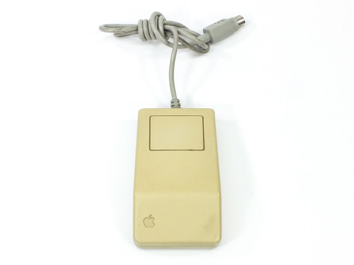 Apple G5431 Desktop Bus Mouse - One Button Vintage ADB - Tested X/Y & Click