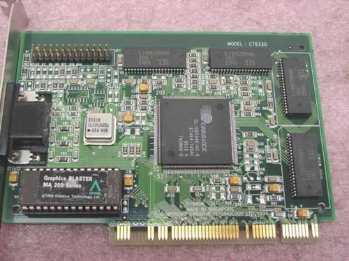 Creative Labs Graphics Blaster MA202 PCI Video Card (CT6330)