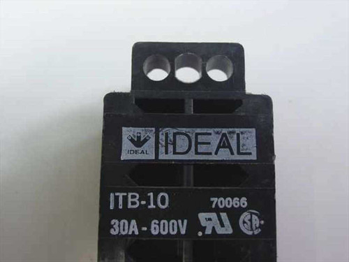 IDEAL Terminal Strip Block 10-Circuit 30AMP 600V (ITB-10)