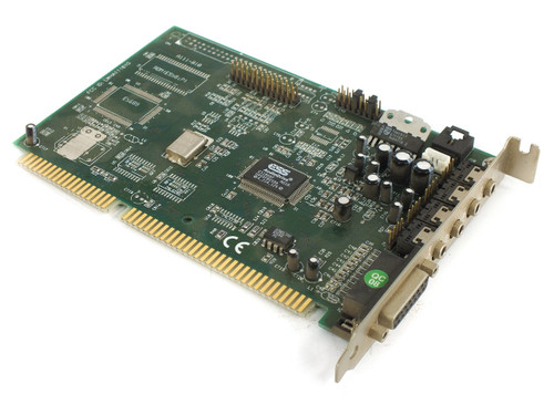 Labway A111-810 16-Bit ISA Sound Card 15-Pin Game - ESS ES1868F - Tested Win 98