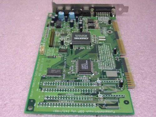 Acer 94362-4 16-Bit ISA Magic S20 Audio Card w/ CD ROM Controller - TESTED Win95