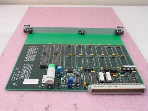 Staubli Unimation W.211.149.00 PCA 512KB Memory Card - FSI Polaris Wafer