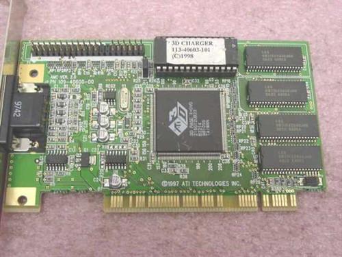 ATI 1024060601513683 2MB VGA PCI Video Card Rage 3D II 113-40603-101 215GT2UB23