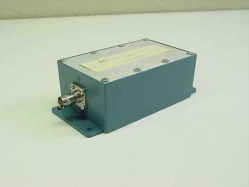 Bessel 5 MHz 5 Pole Bessel Filter 50 Ohms In/Out Low Pass in Enclosure Housing