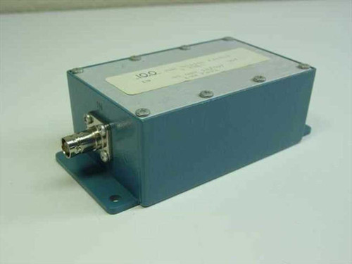 Bessel 10 MHz 5 Pole Bessel Filter 50 Ohms In/Out Low Pass in Enclosure Housing