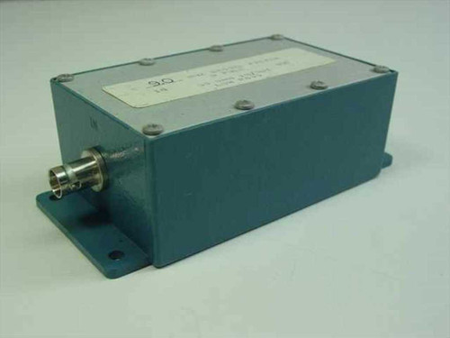 Bessel 9.0 MHz 5 Pole Bessel Filter 50 Ohms In/Out Low Pass in Enclosure