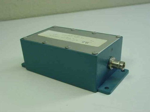 Bessel 9.5 MHz 5 Pole Bessel Filter 50 Ohms In/Out Low Pass in Enclosure