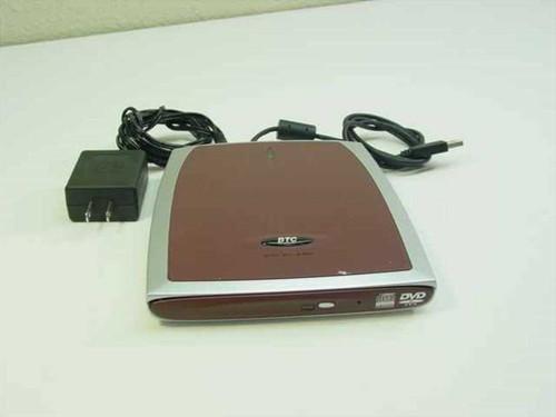 BTC DVD CD-R/RW External Drive BCO 2408SU