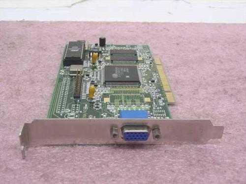Jaton 8270A/V2 4MB PCI Video Card CVGA 546 - Cirrus Logic CL-GD5464-HC-A