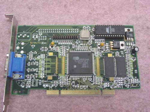 Jaton 8270A/V2 4MB PCI Video Card CVGA 546 - Cirrus Logic CL-GD5464-HC-A