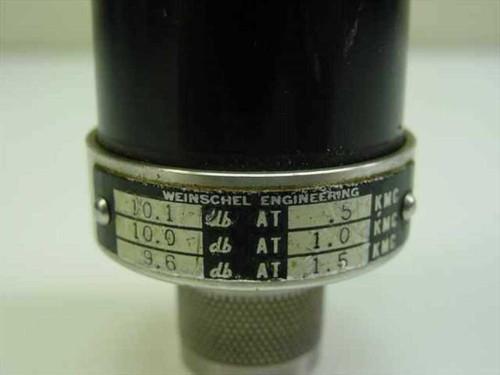 Weinschel Eng. 10dB Attenuator 41922