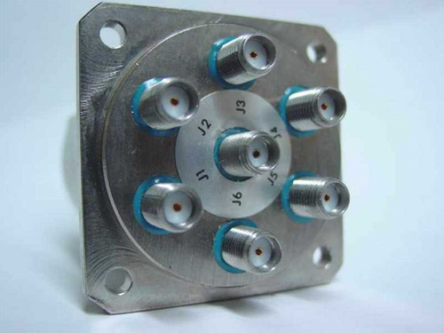 K&L Single Pole 6 Throw Coaxial Relay 6MP-28-F-0-4