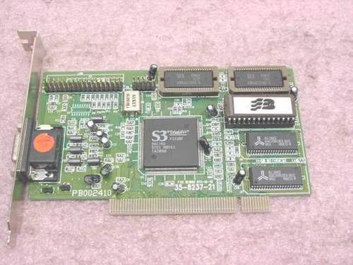 S3 35-8237-21 PCI VGA Video Card with Trio64V 86C765 PB002410