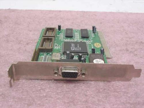 Video Technology PCI Video Card S3 Trio64V& N1C3CF