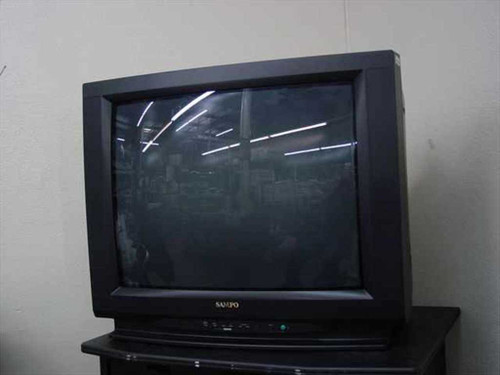 "Sampo VME-23V3 32"" Color CRT Television - 2 RCA Inputs - No Remote - As Is"
