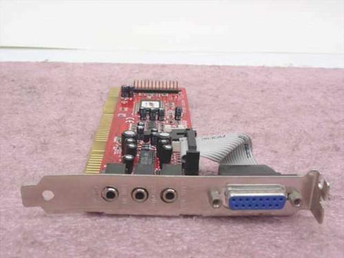 ExpertColor ISA Sound Card (MED3931)