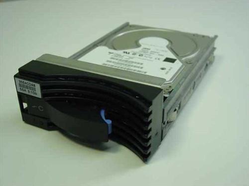 IBM 09L2209 9.1GB SCSI Hot Swap Hard Drive ECF23980 DGHC in 05J8049 F22870 Caddy