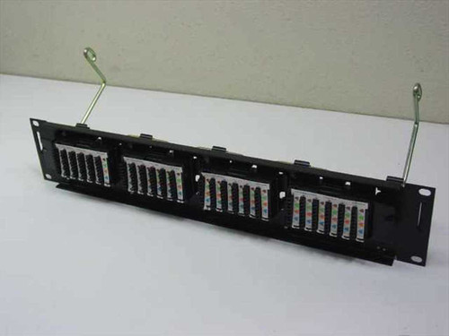 Lucent Telephone Cable Networking Ethernet Rack (Black)