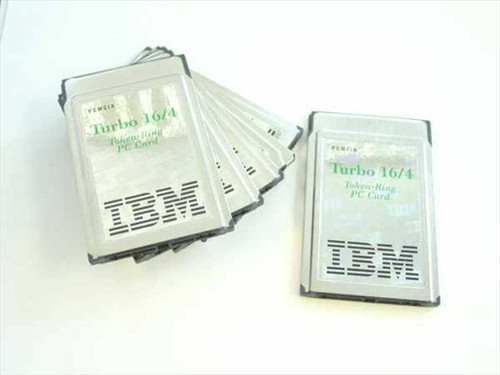IBM Turbo Token-Ring 16/4 PC Card 2-W/Dongle (85H3656)