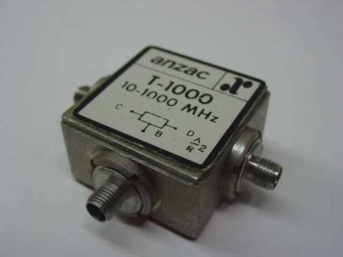 Anzac T-1000 Power Splitter/Combiner 10-1000 MHz