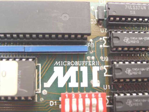 Practical Peripherals Apple II compatible interface card (Microbuffer II)