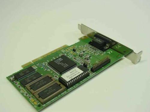 ATI 113-32107-102 Mach64 1MB PCI VGA Video Card 109-32100-20 1023210320