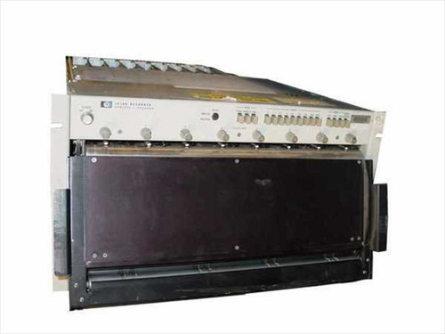 HP 7418A Chart Recorder, 8 Channel, Rackmount - AS IS
