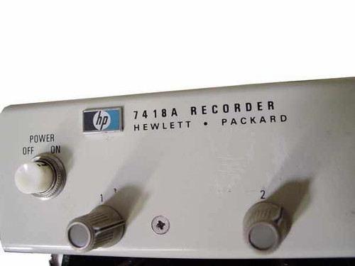 HP Chart Recorder, 8 Channel, Rack Mount (7418A)