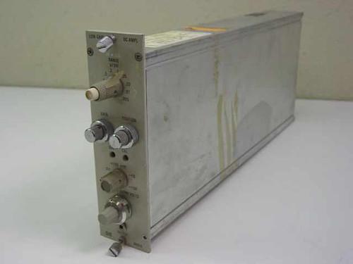 HP 8801A Low Gain DC Amp Plug-in Module