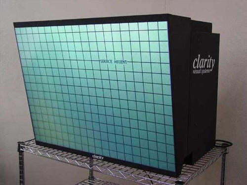 Clarity VN-3820-VA Leopard LCD Projection Monitor Analog VGA Overhead - As Is