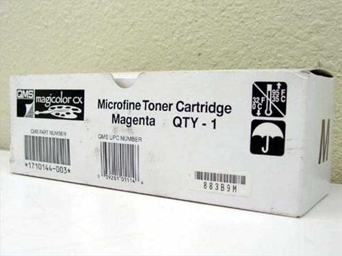 QMS Microfine Toner Cartridge - Magenta 1710144-003