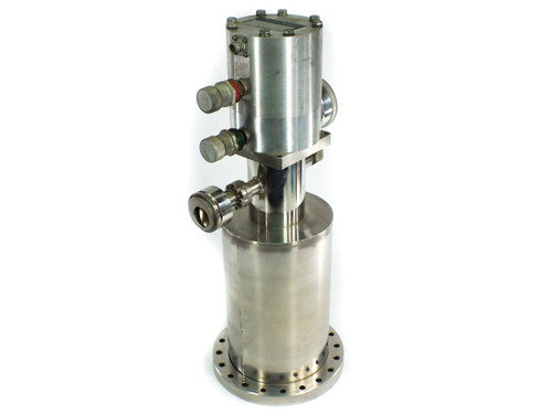Air Products DE 202S Displex Cold Head Perkin-Elmer Ultek Cryogenic Vacuum Pump