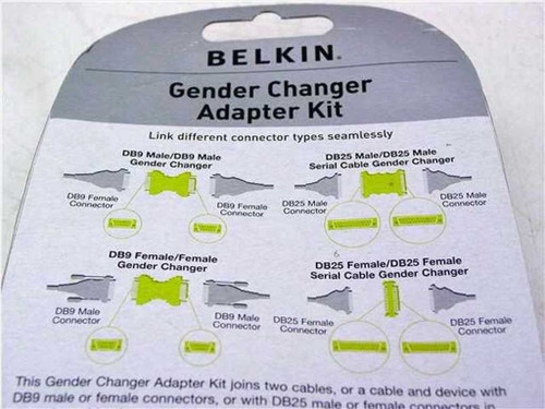 Belkin Adapter Kit (Gender Changer)
