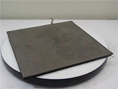 "Stainless Steel Air Circulation Plate 13-5/8"" X 13-5/8"" X 3/8"""