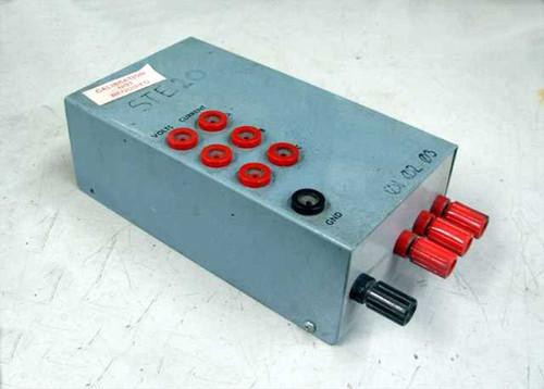Custom Made Hobby Box With 3 fused 5 Amp Thermal Circut Breakers
