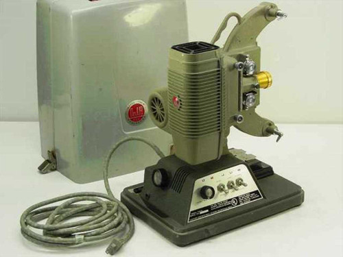 DeJur Amsco 750-B 8mm Film Projector with Bulb and Cary Case - 115 VAC